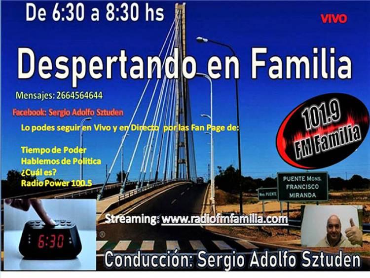 DESPERTANDO EN FAMILIA DE LUNES A VIERNES A PARTIR DE LAS 6:30